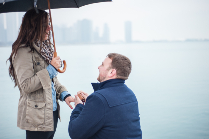 Image 7 of Steve and Brittany's Proposal in Chicago
