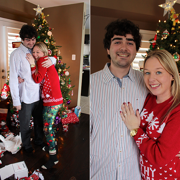 Image 5 of Nicci and Vlad's Christmas Morning Proposal