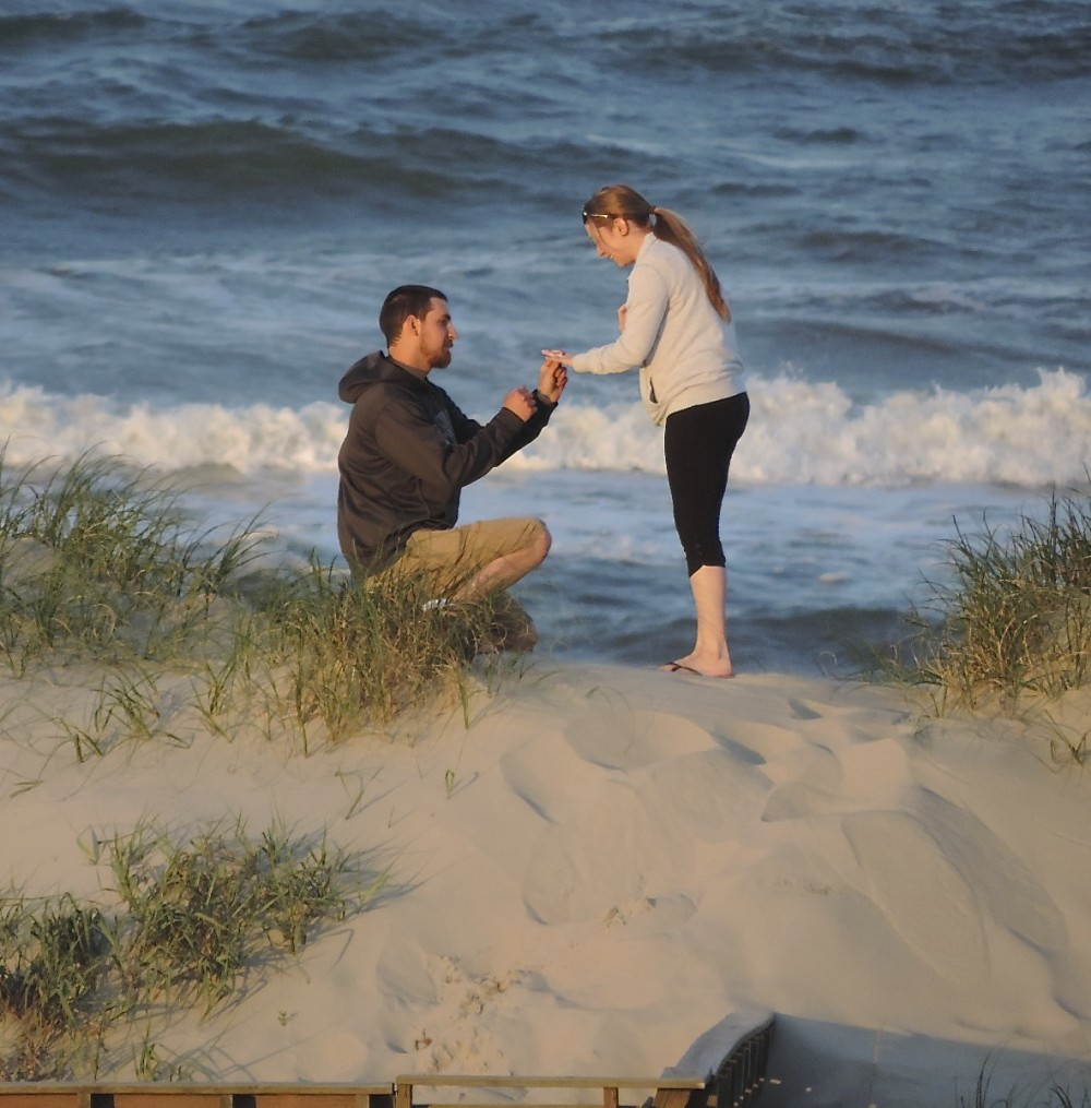 Image 3 of Marissa and Jared's Outer Banks Proposal