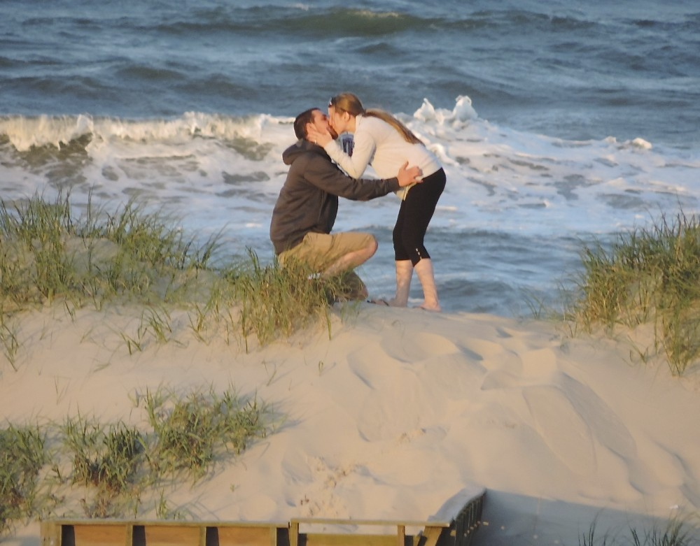 Image 4 of Marissa and Jared's Outer Banks Proposal