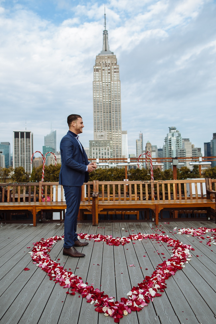 Image 2 of Danielle and Adam's Proposal in New York City