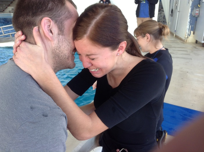Image 3 of Mandy and Mike | Romantic Dolphin Proposal