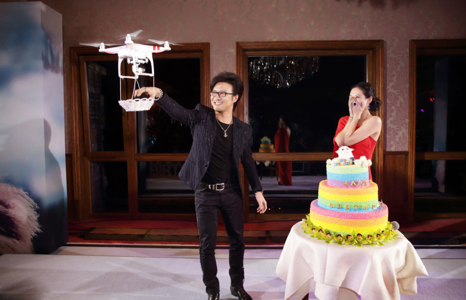 Image 1 of High-Tech Drone Marriage Proposal