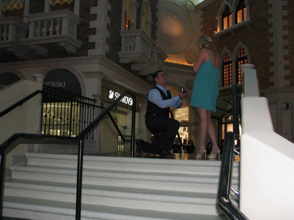 Image 1 of Alison and Christopher's Vegas Scavenger Hunt Proposal
