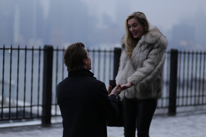 Image 4 of Jacqueline and Guido's Brooklyn Promenade Proposal