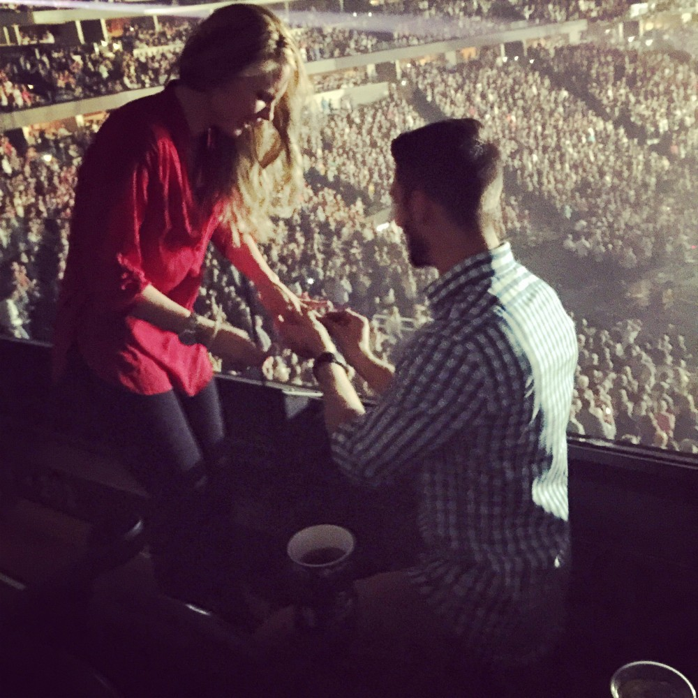 Image 4 of Dana and Dan's Proposal at an Eric Church Concert