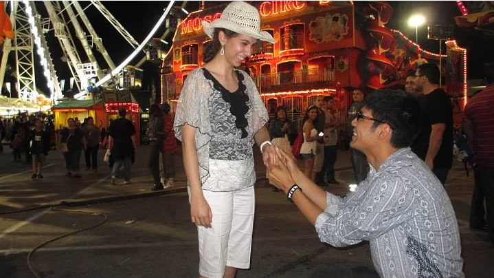Image 3 of Maggie and Christian | Proposal at the Rodeo