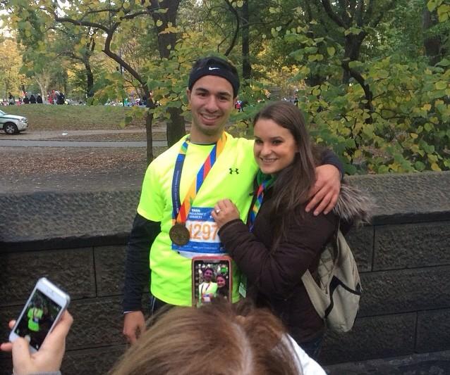 Image 3 of Tina and Freddie   New York City Marathon Proposal