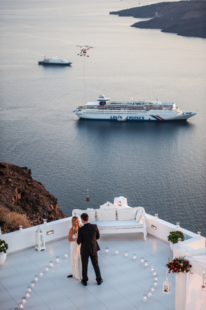 Image 4 of He Pulled Off an Elaborate Surprise Proposal in Greece