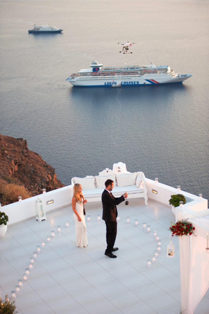 Image 5 of He Pulled Off an Elaborate Surprise Proposal in Greece