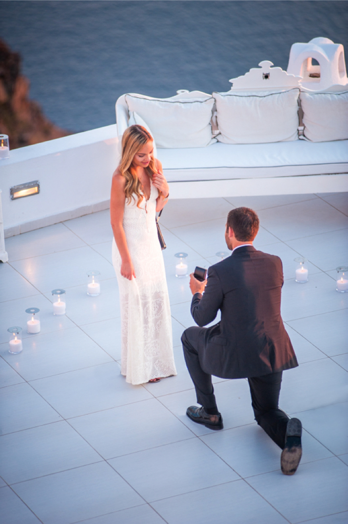 Image 6 of He Pulled Off an Elaborate Surprise Proposal in Greece