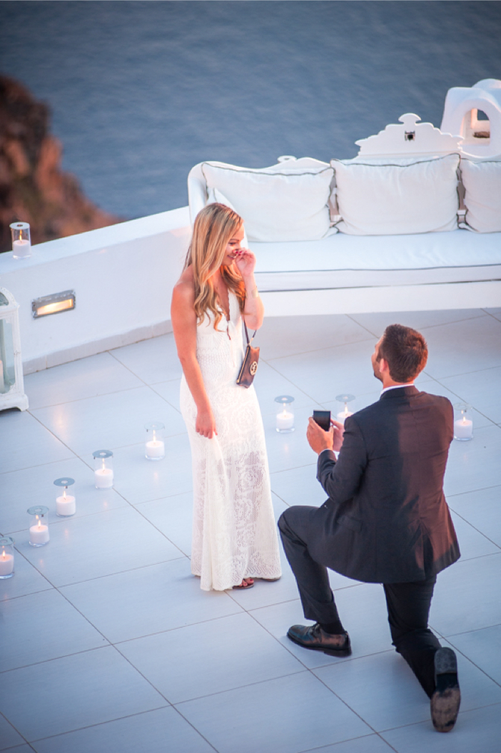 Image 7 of He Pulled Off an Elaborate Surprise Proposal in Greece