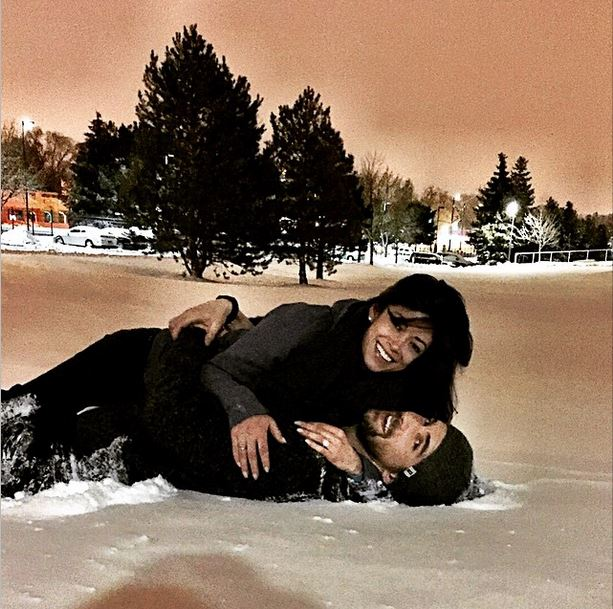 Michael Phelps Nicole Johnson engagement photo 3