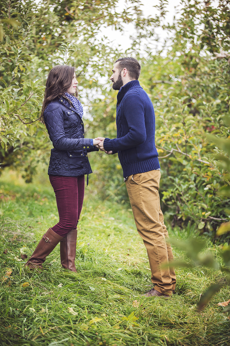 Image 4 of Kaitlyn and Michael's Proposal in the Blue Ridge Mountains