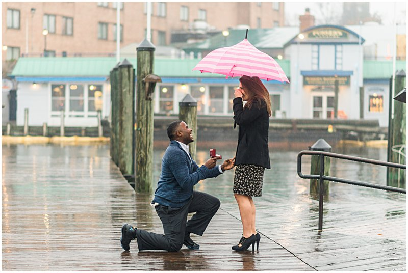 Image 6 of Natalie and Ed's Adorable Rainy Day Proposal