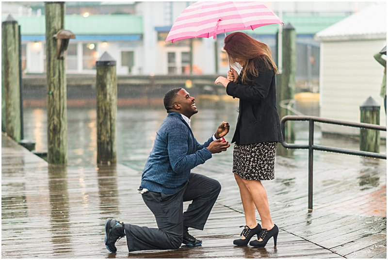 Image 7 of Natalie and Ed's Adorable Rainy Day Proposal