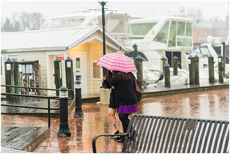 Image 2 of Natalie and Ed's Adorable Rainy Day Proposal