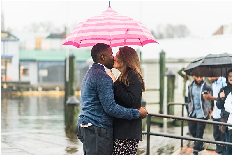 Image 9 of Natalie and Ed's Adorable Rainy Day Proposal