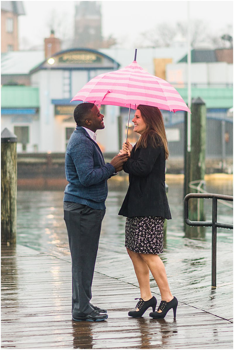 Image 3 of Natalie and Ed's Adorable Rainy Day Proposal