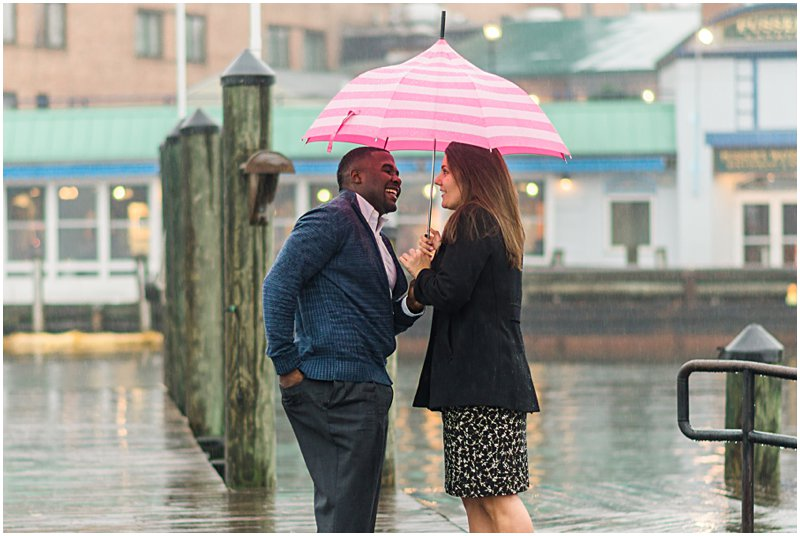Image 4 of Natalie and Ed's Adorable Rainy Day Proposal