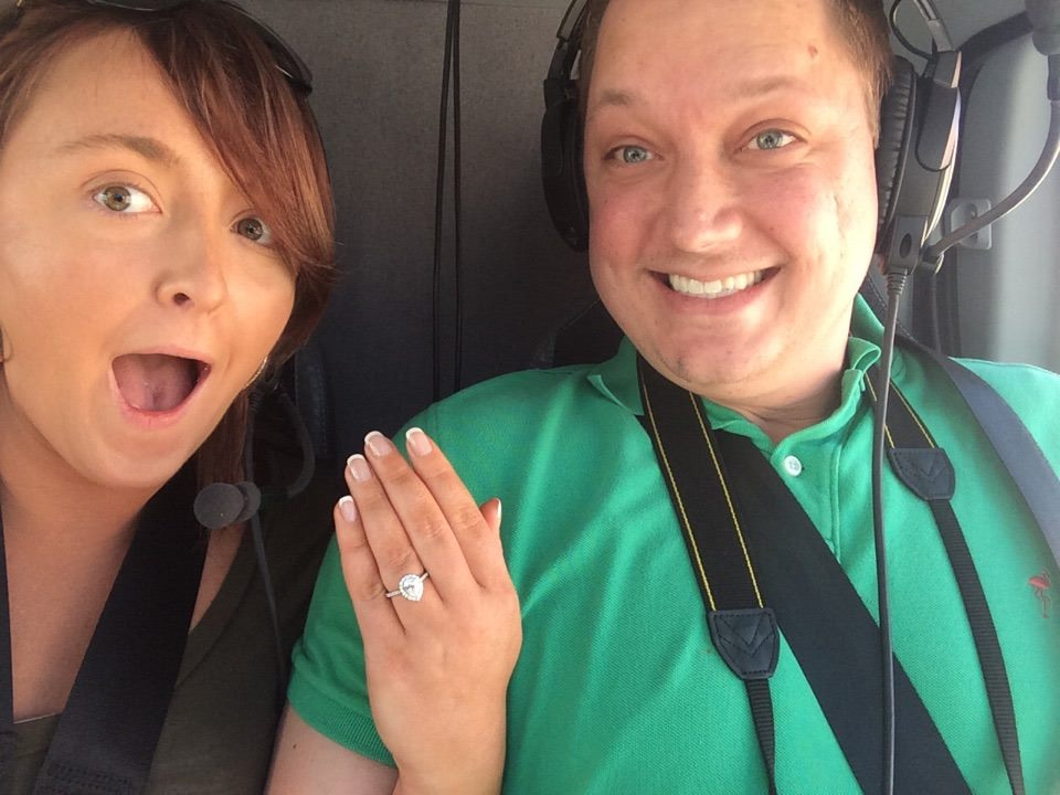 Proposal Selfie seconds later after original shocked!!!