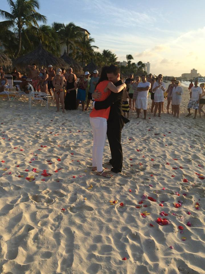 Romantic Video Proposal on the beach (5)