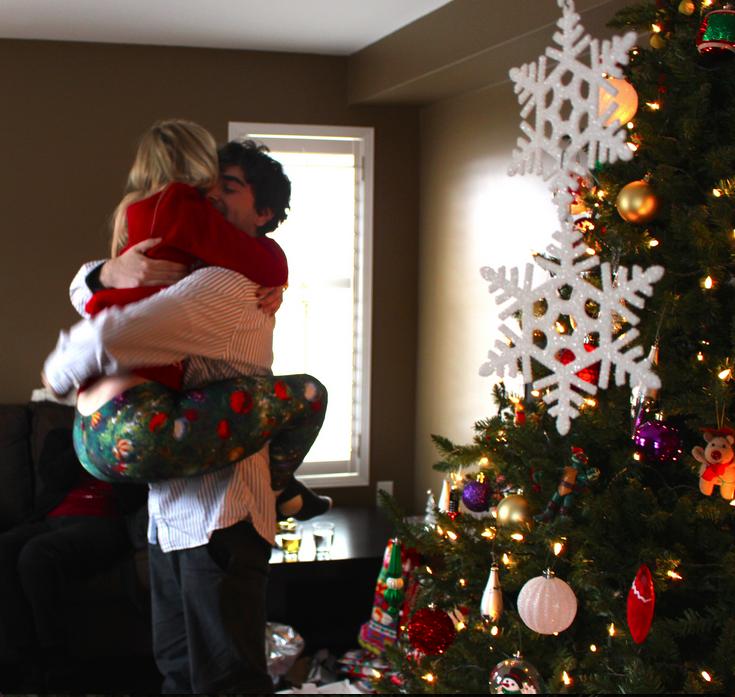 Image 1 of Nicci and Vlad's Christmas Morning Proposal