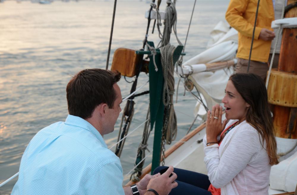 Image 4 of Jenny and Pat's Sailboat Proposal