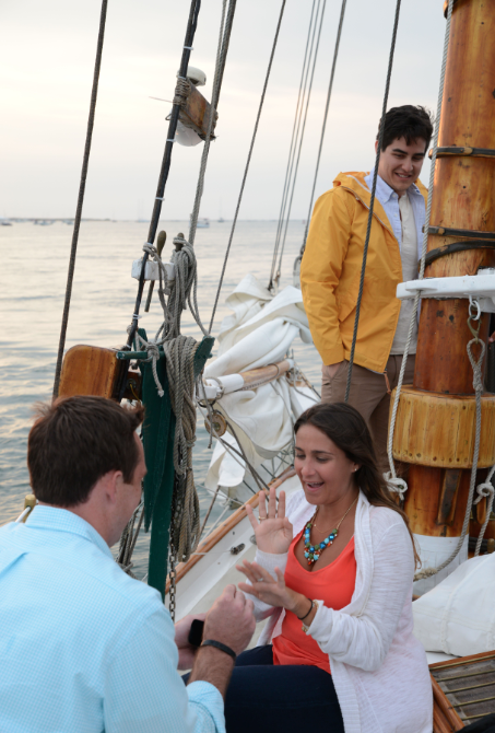 Image 5 of Jenny and Pat's Sailboat Proposal