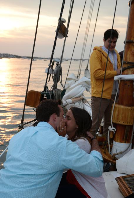 Image 6 of Jenny and Pat's Sailboat Proposal