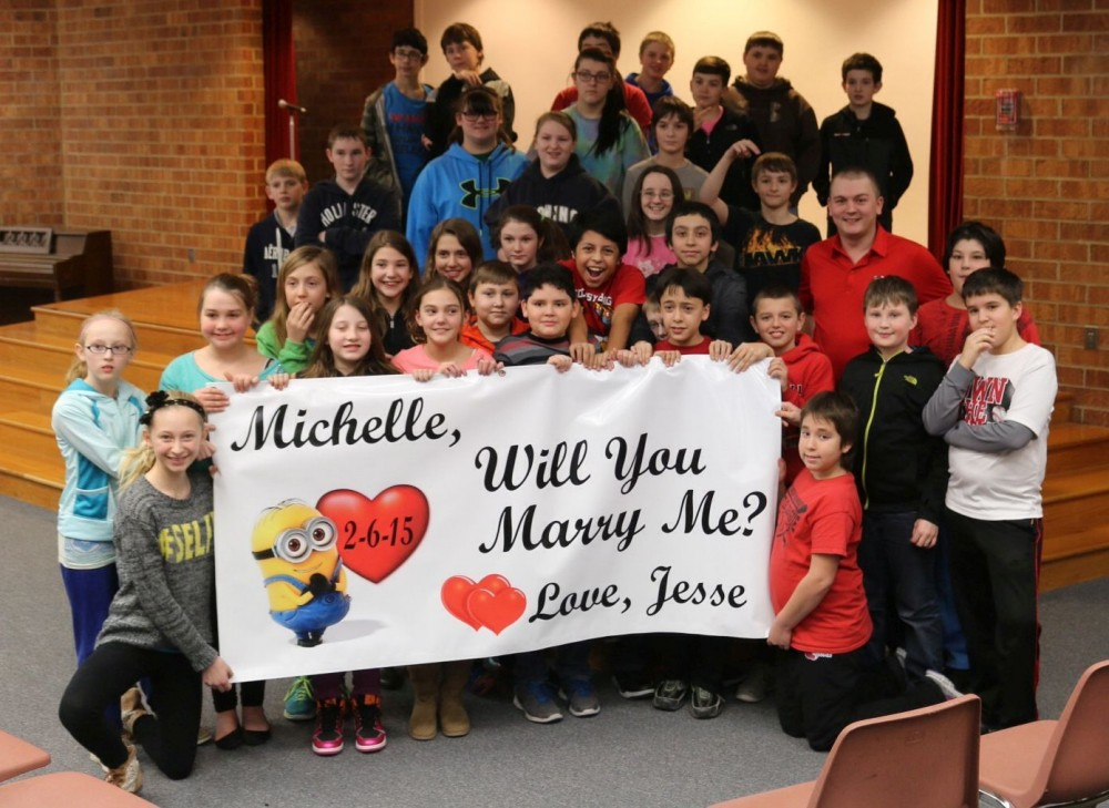 Image 1 of Michelle and Jesse's Classroom Proposal