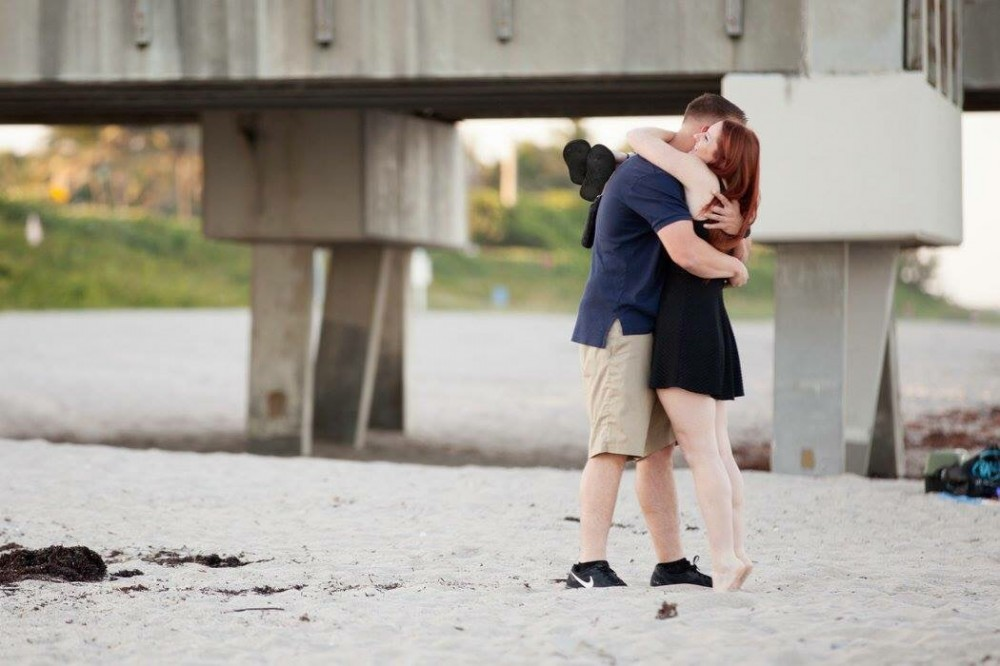 Image 6 of Melissa and Sean's Beach Proposal