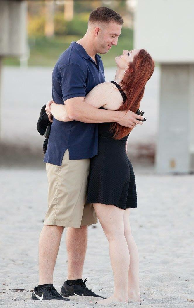 Image 2 of Melissa and Sean's Beach Proposal