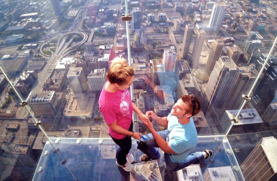 Image 2 of Erica and Joe's Sears Tower Proposal