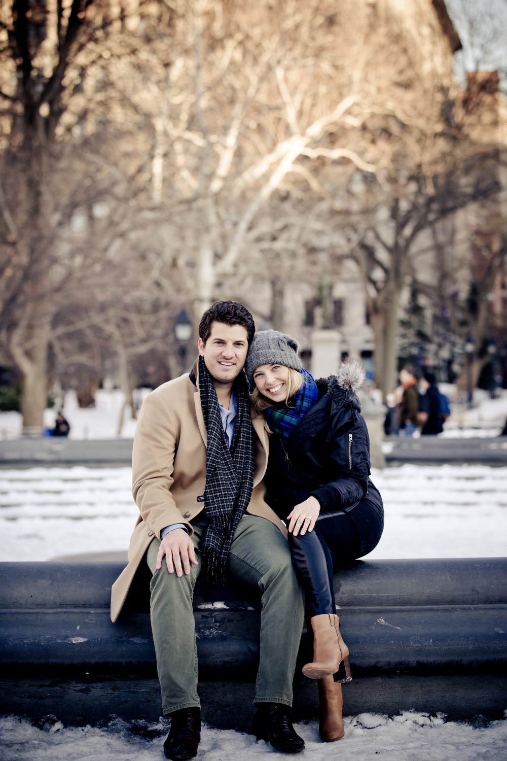 Image 4 of Jessica and Joe's Proposal in Washington Square Park