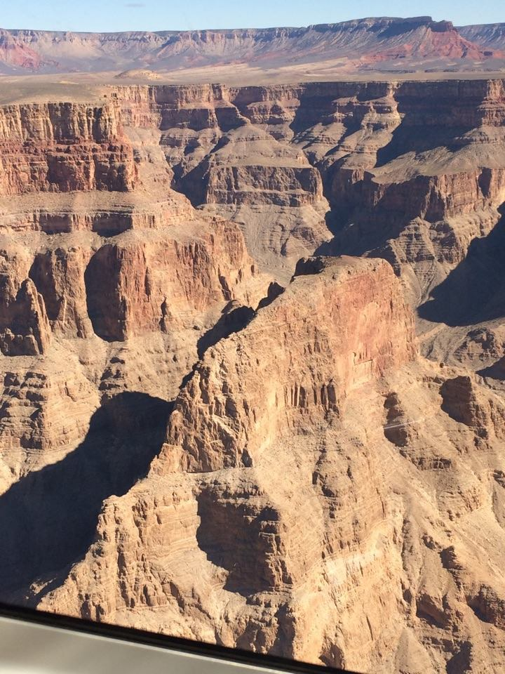 over the canyon
