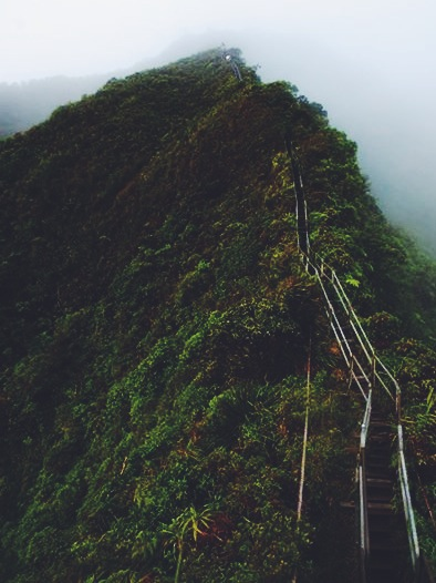 Image 1 of Andrew and Tiffany's Proposal at The Stairway to Heaven
