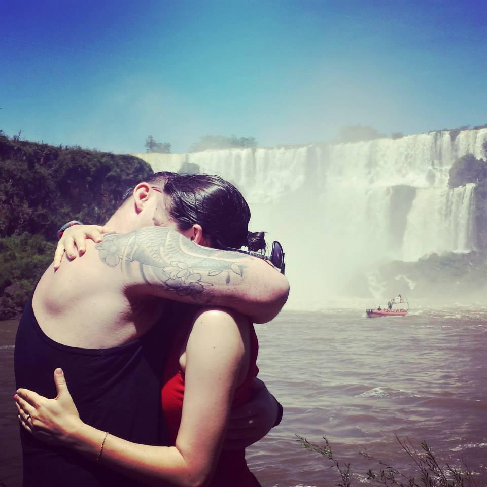 Image 4 of Julia and Bradley's Proposal at Iguazu Falls