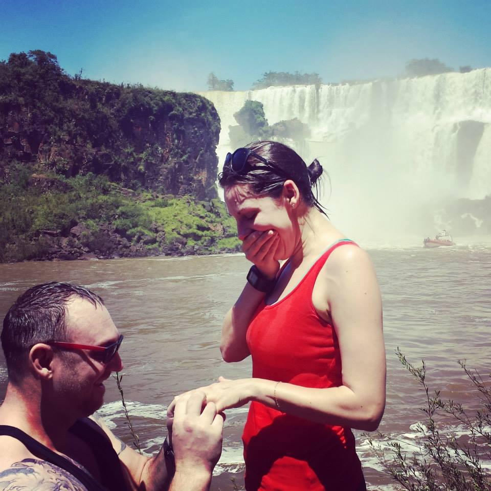 Image 3 of Julia and Bradley's Proposal at Iguazu Falls