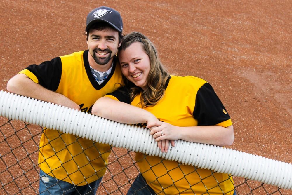 Image 1 of Courtney and Chris's Baseball Proposal