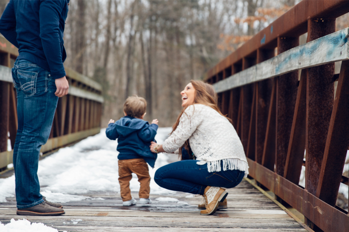 Image 4 of The Cutest One Year Old Helps Dad Propose To His Mom