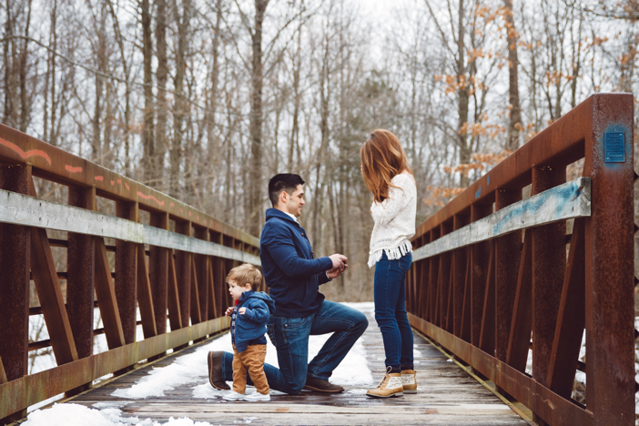 Image 5 of The Cutest One Year Old Helps Dad Propose To His Mom