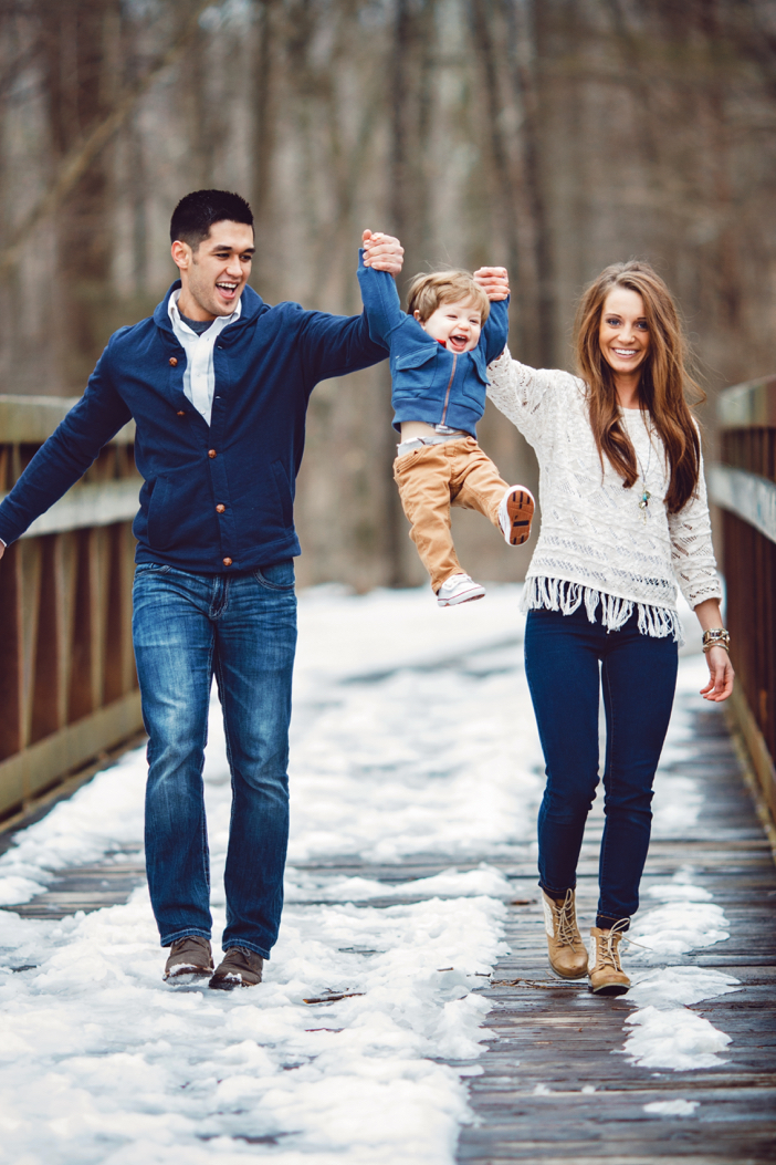 Image 1 of The Cutest One Year Old Helps Dad Propose To His Mom