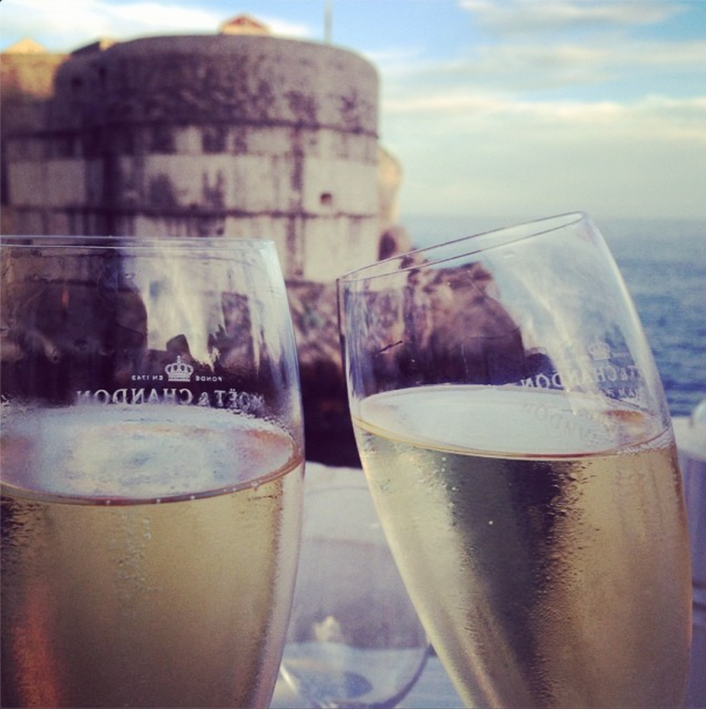 Cheers from Dubrovnik