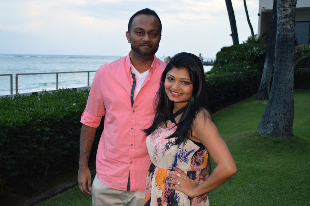 Image 1 of Shruti and Aditya