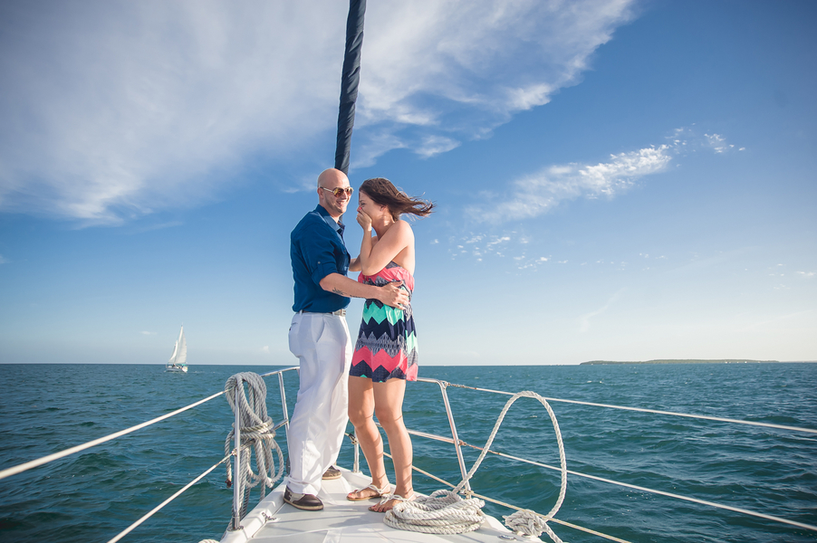 Image 5 of Whitney and Jean's Sailboat Proposal