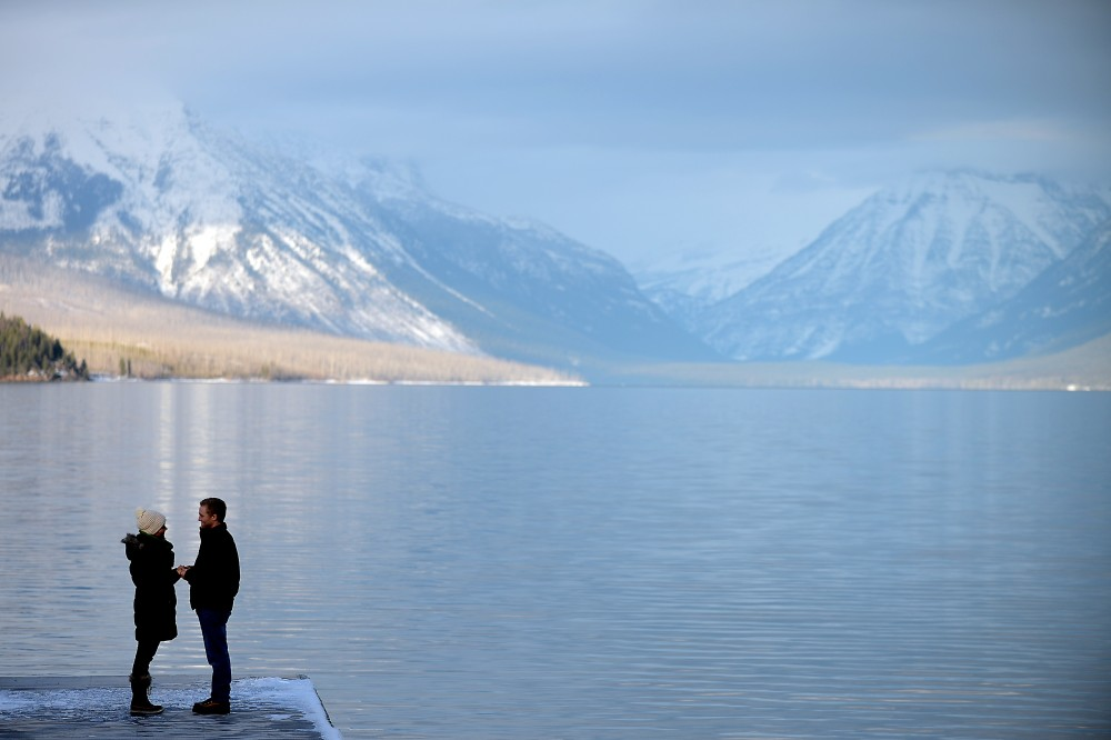 Image 3 of Anna and Craig's Glacier National Park Marriage Proposal