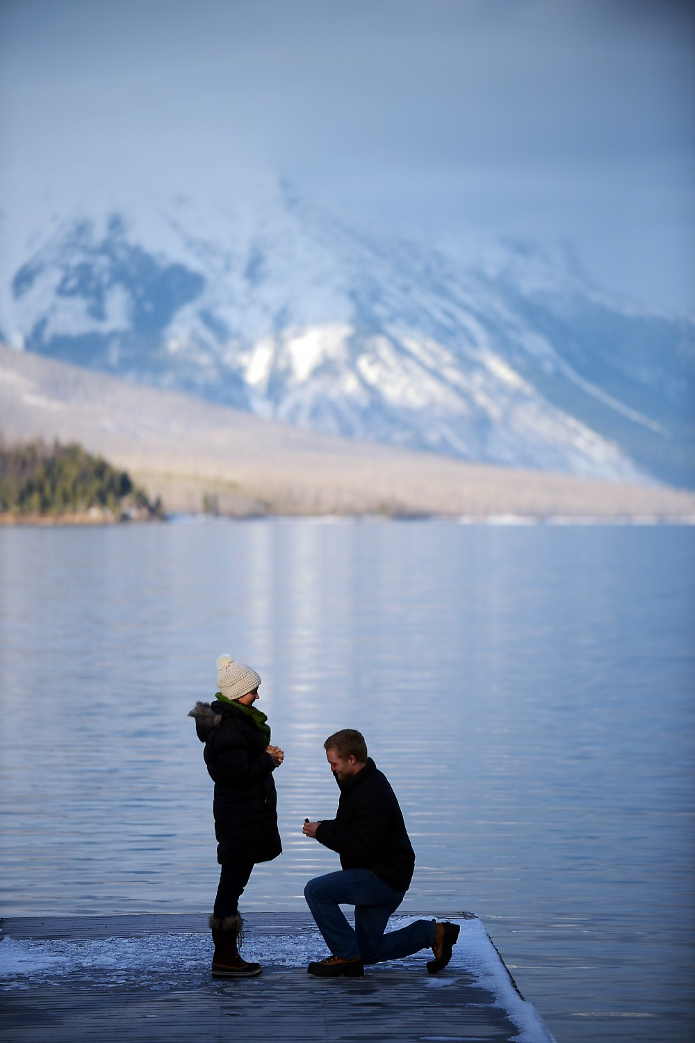 Image 4 of Anna and Craig's Glacier National Park Marriage Proposal