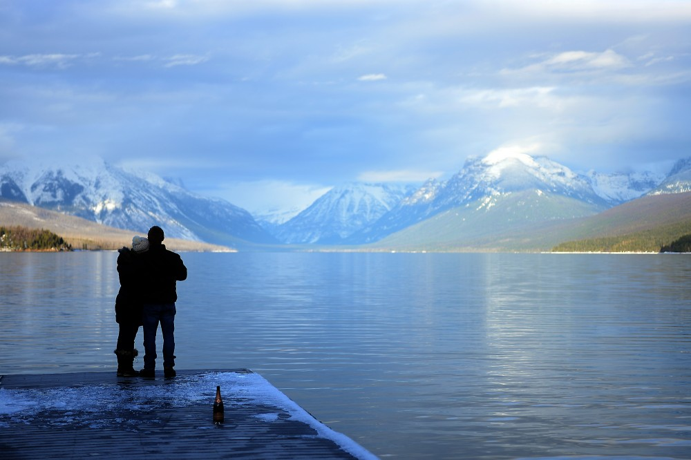 Image 1 of Anna and Craig's Glacier National Park Marriage Proposal