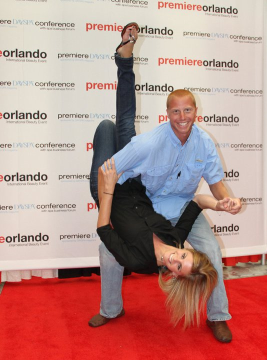Erin and Joe red carpet